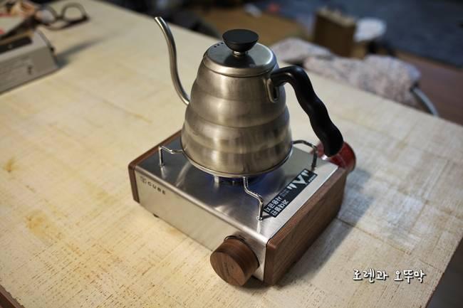 휴대용 가스 버너 '코베아 큐브 우드웨어' 조립기16
