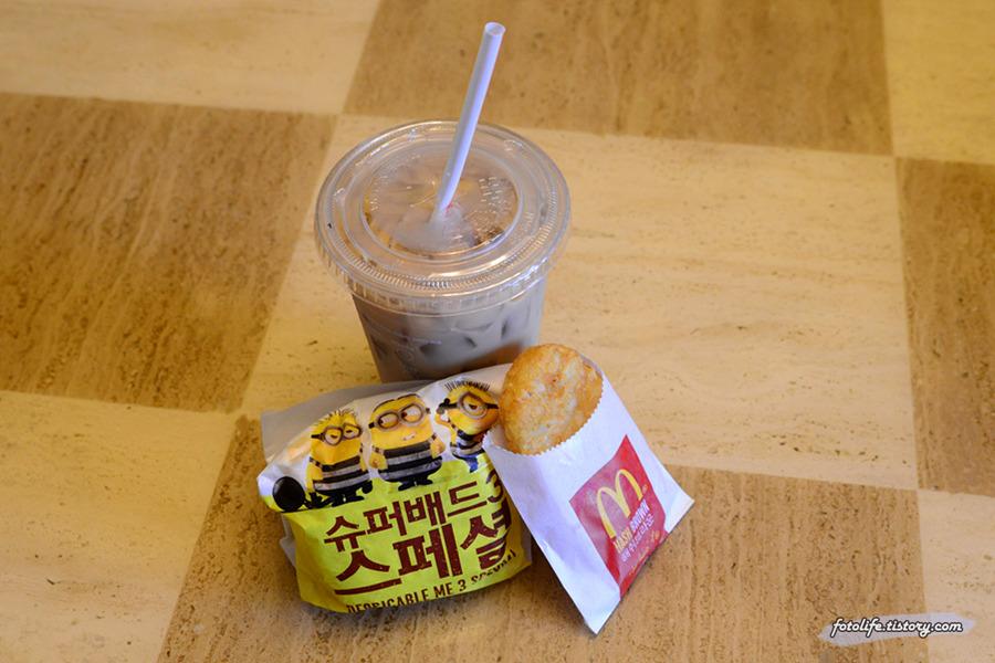 맥도날드 맥모닝 <콘치즈 에그 맥머핀>을 먹어봤습니다!