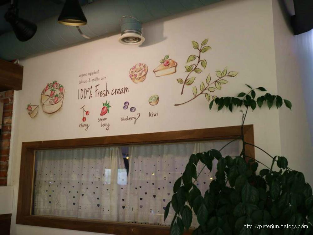 카페 실내 인테리어