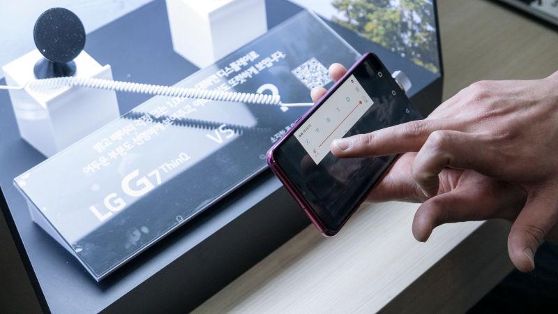 LG G7 씽큐 첫인상, 몇가지 특징 살펴보니