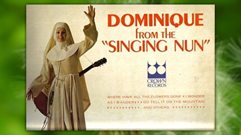사진: 미국에서는 노래하는 수녀라는 이름으로 앨범을 냈다.