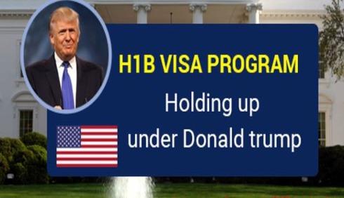 트럼프 H-1B 등 취업비자 충격적인 지연, 기각