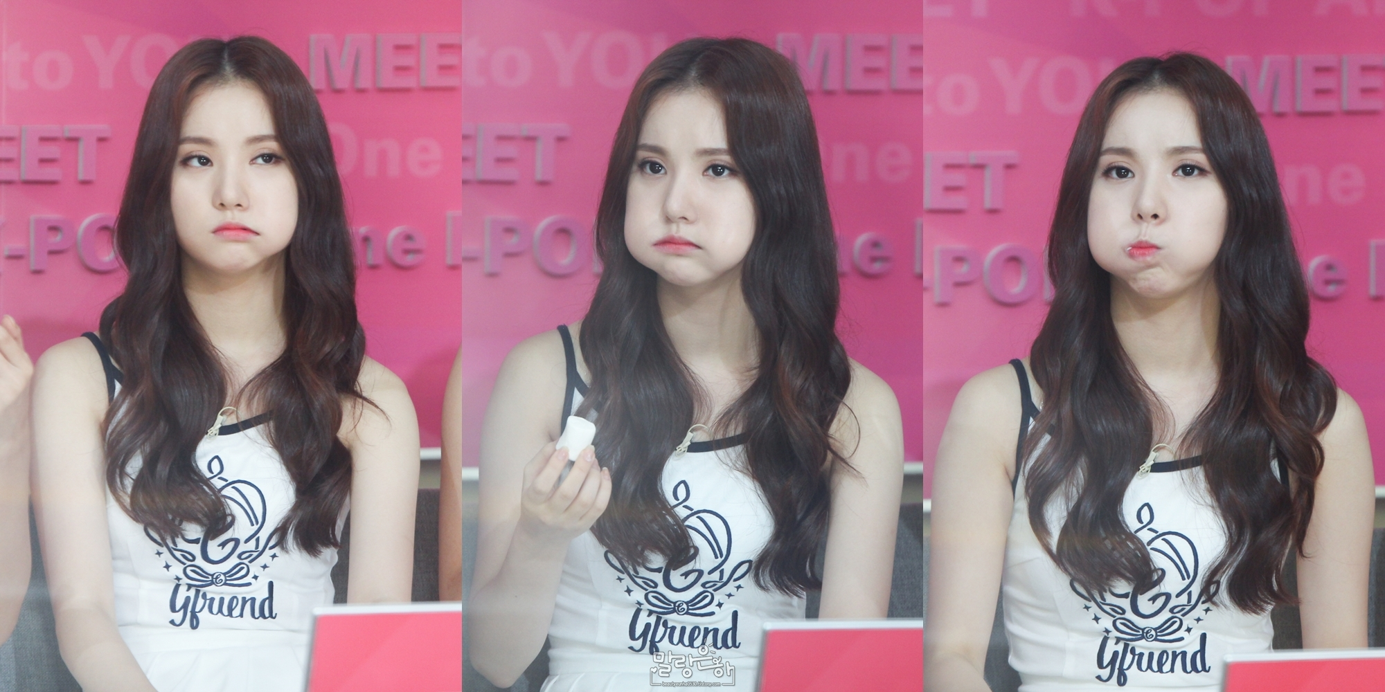 Gfriend Chubby Bunny In Mnet Mwave Meet And Greet Movies